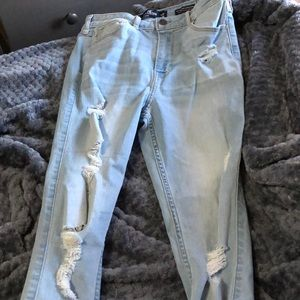 Hollister high-rise skinny classic stretch jeans
